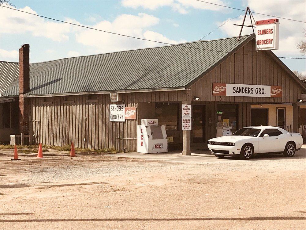 Sanders Grocery: U S 49E, Minter City, MS