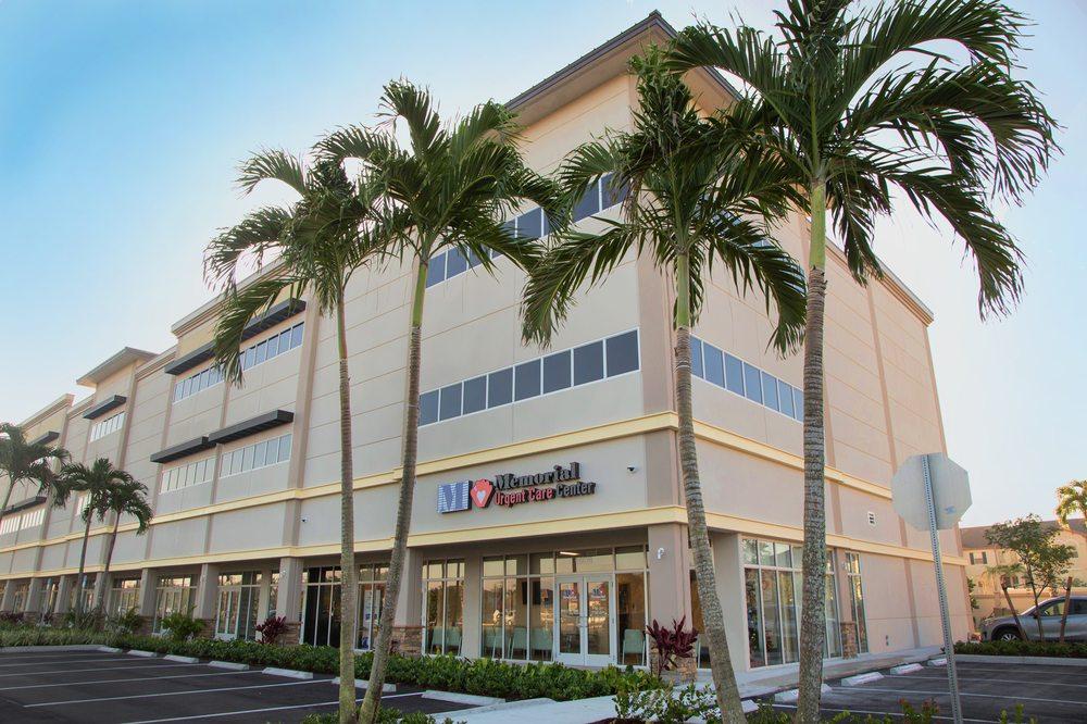Memorial Urgent Care Center - Pembroke Pines: 16620 Sheridan St, Pembroke Pines, FL