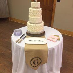 Photo Of Maepolly S Cake Co Valdosta Ga United States Rustic Wedding