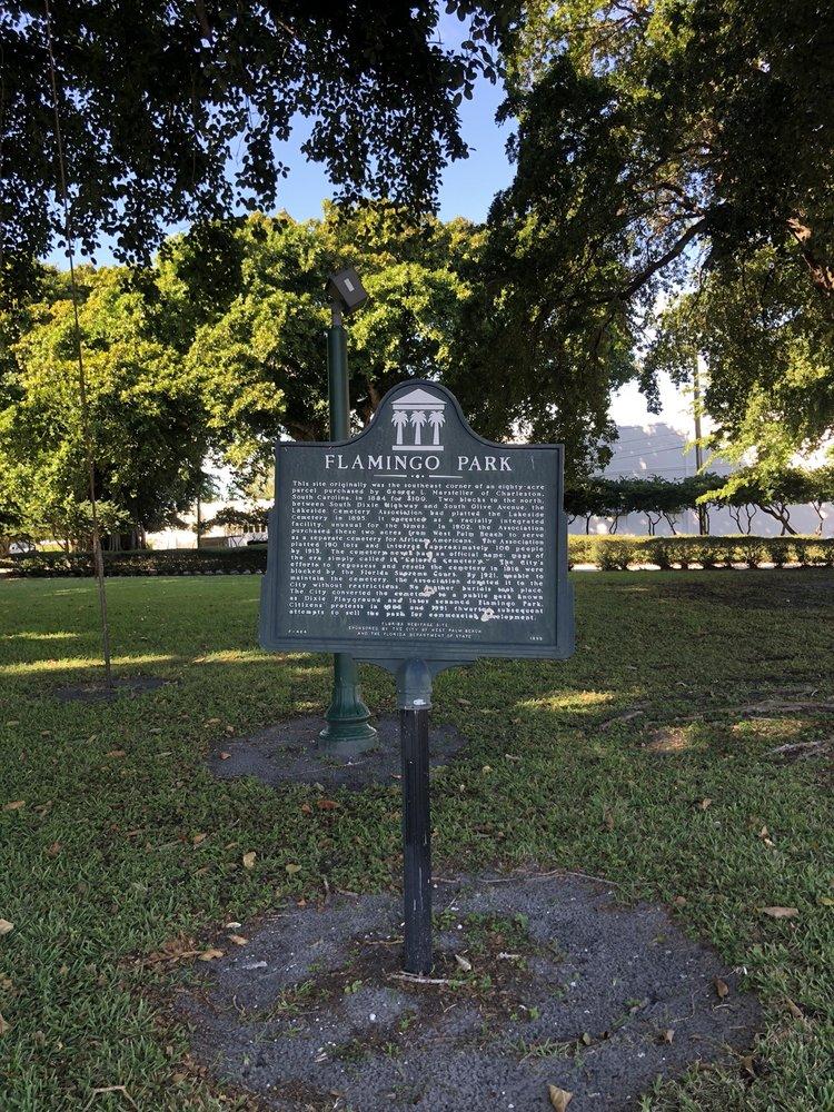 Flamingo Park: 1707 S Dixie Hwy, West Palm Beach, FL