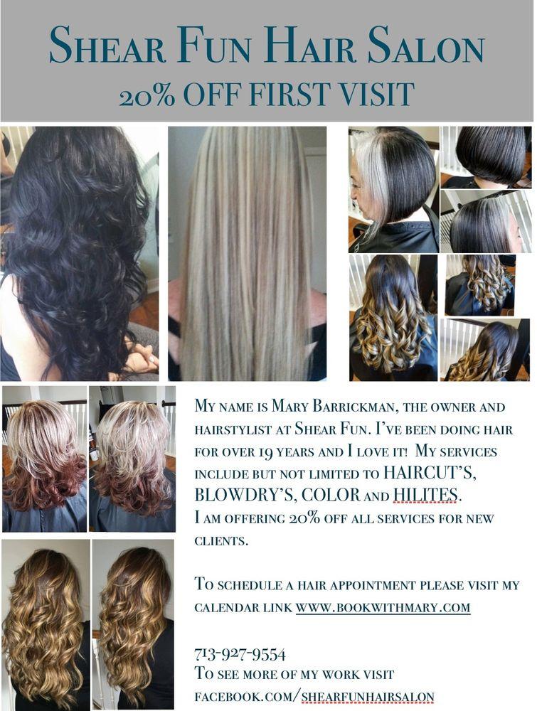 Shear Fun Hair Salon: 2020 Solo St, Houston, TX