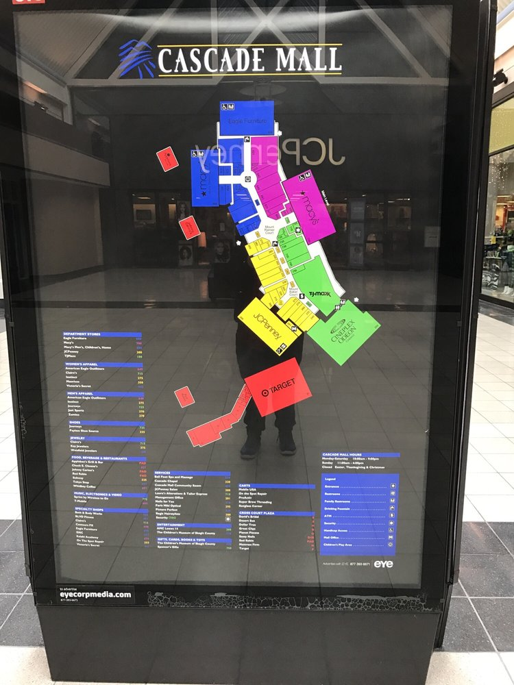 Cascade Mall: 201 Cascade Mall Dr, Burlington, WA