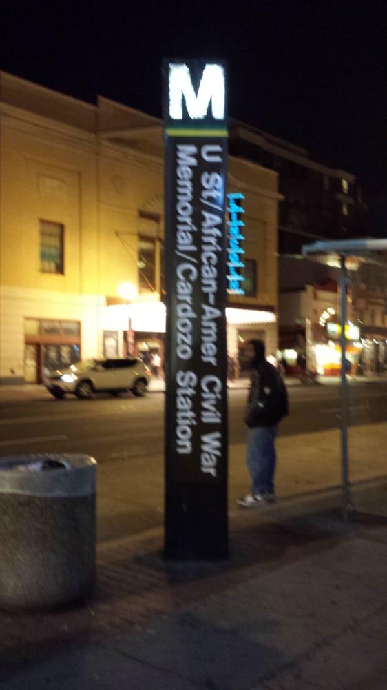 U street african amer civil war memorial cardozo metro for Furniture u street dc