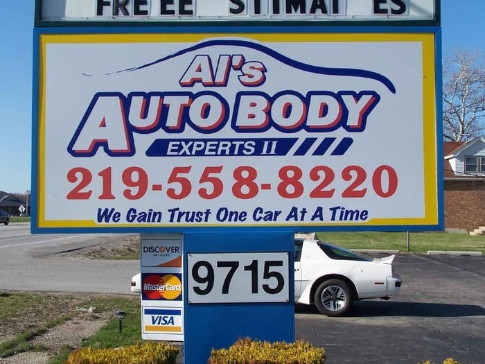 Al's Auto Body Experts II: 9715 Wicker Ave, Saint John, IN