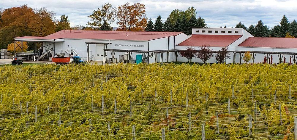 Chateau Grand Traverse Winery: 12239 Center Rd, Traverse City, MI