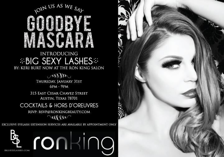Ron King Salon Big Sexy Lashes Cocktail Mixer Invitation Yelp