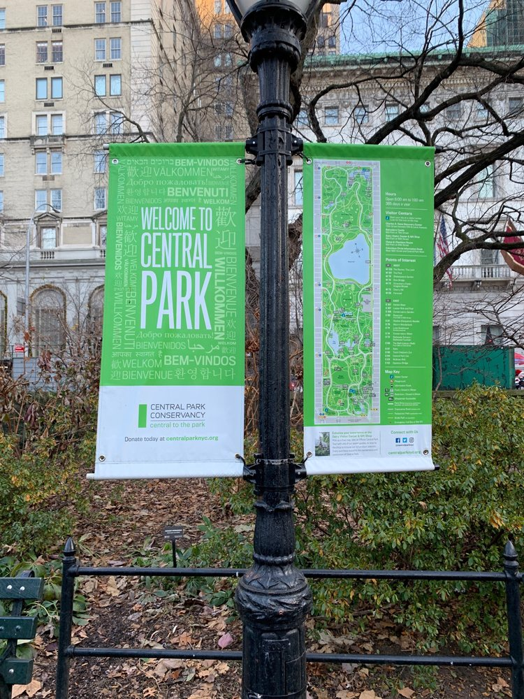 Social Spots from Central Park Conservancy
