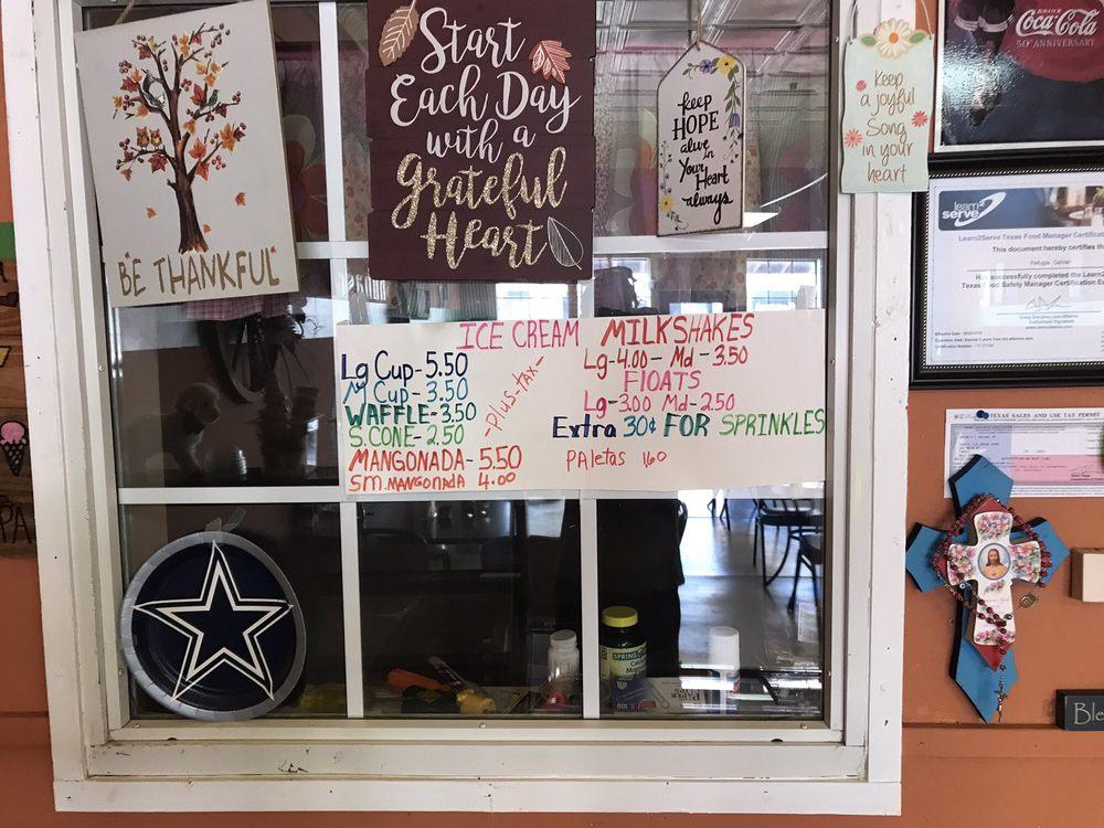 Tony's Ice Cream Shop: 306 Main St, Turkey, TX