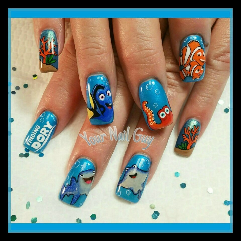 Finding Dory nails.....not your usual. But fantastic just the same ...
