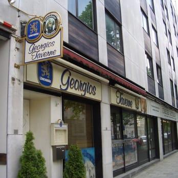 georgios taverne 38 beitr ge griechisch schlei heimer str 188 schwabing west m nchen. Black Bedroom Furniture Sets. Home Design Ideas