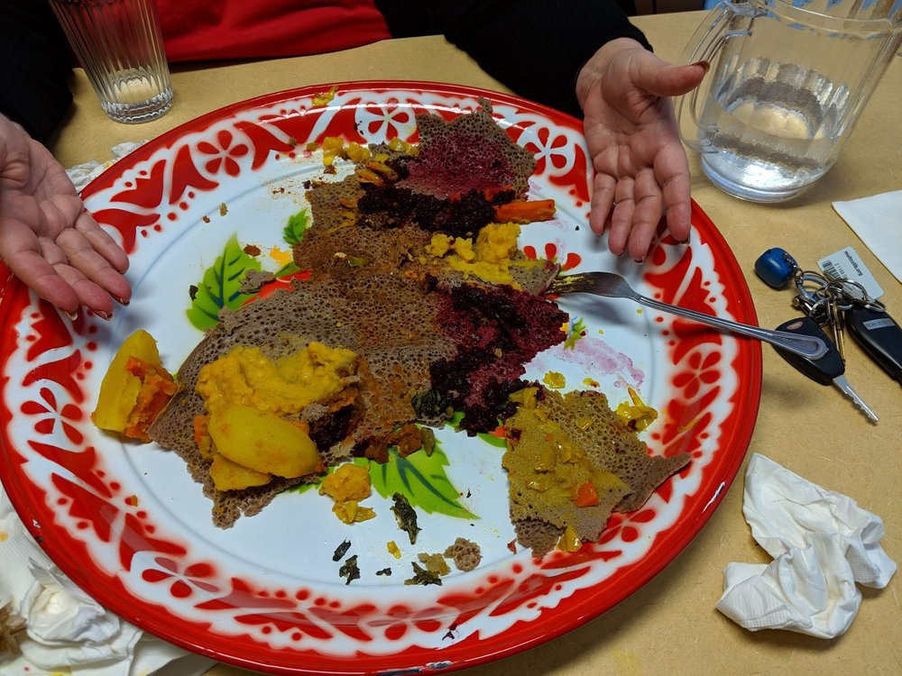 Sisters Ethiopian Restaurant: 1720 SE 122nd Ave, Portland, OR