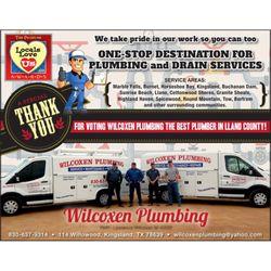 Wilcoxen Plumbing Plumbing 114 Willowood Kingsland Tx Phone