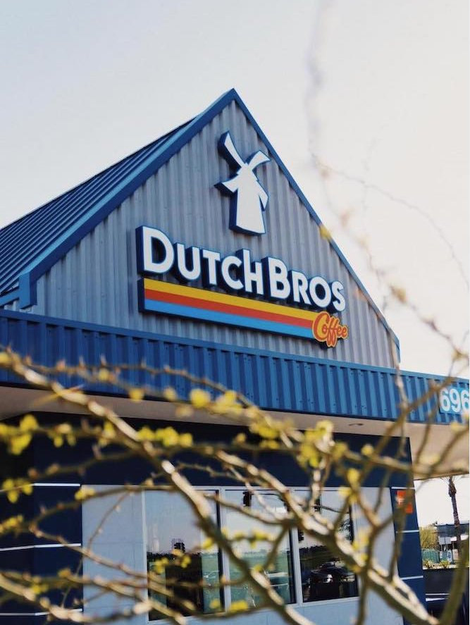 Dutch Bros Coffee: 1065 E Pine St, Central Point, OR