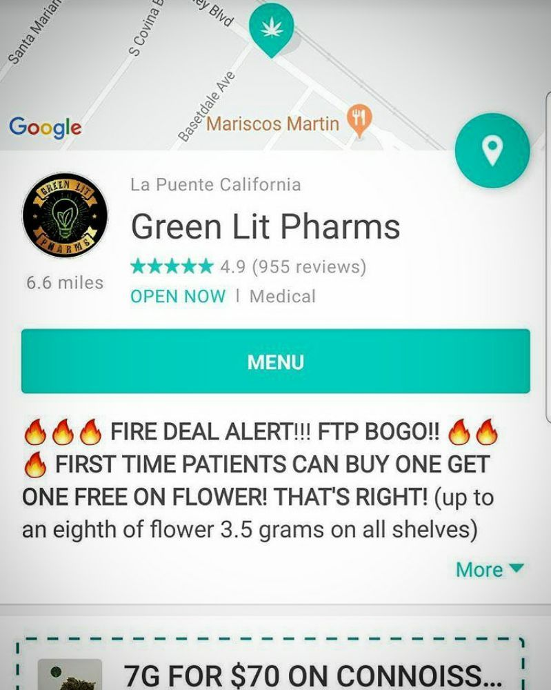 Green Lit Pharms: 13309 Valley Blvd, City of Industry, CA