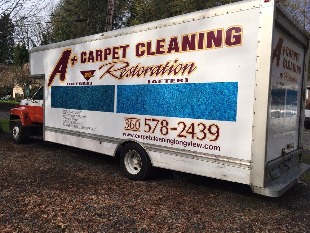 A+ Carpet & Furniture Cleaning: 2431 Mcatee Dr, Longview, WA