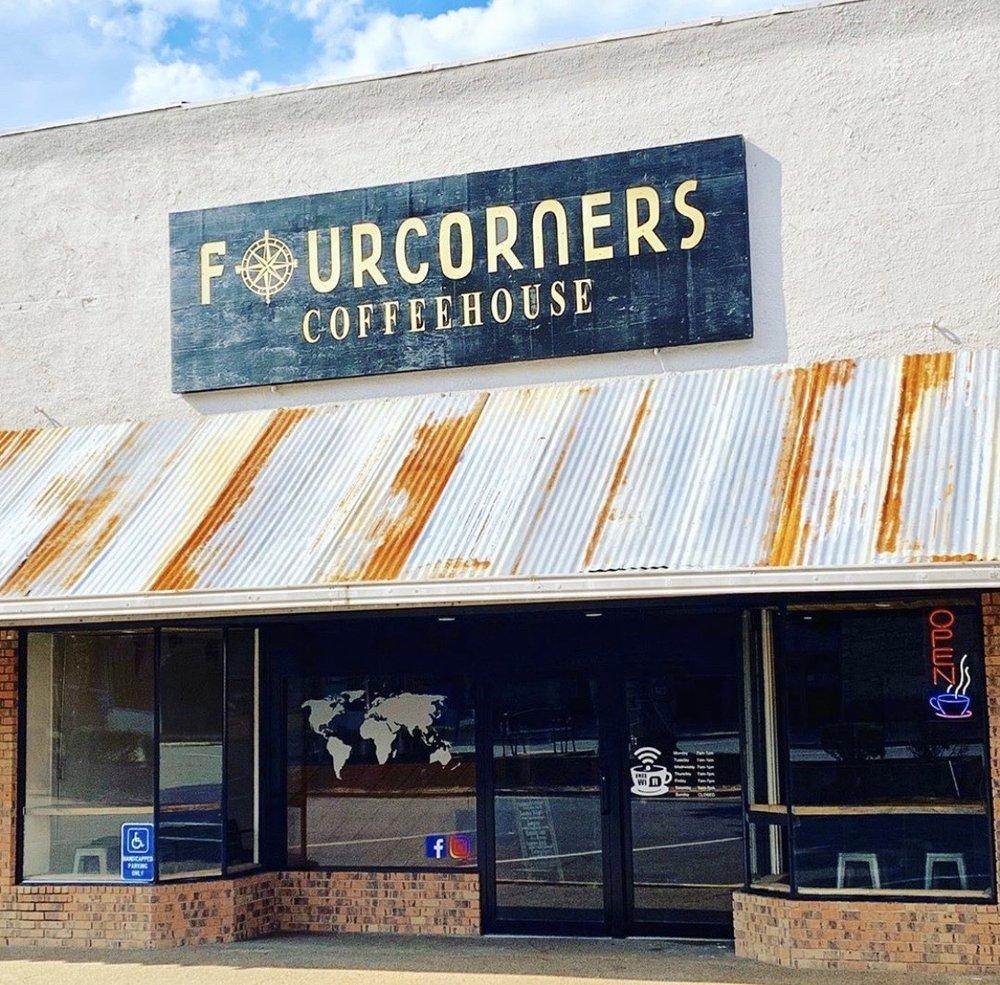 Four Corners Coffeehouse: 200 Jimmie Davis Blvd, Jonesboro, LA