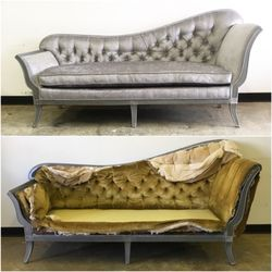 Charmant Photo Of Revived Upholstery   Denver, NC, United States. Before And After