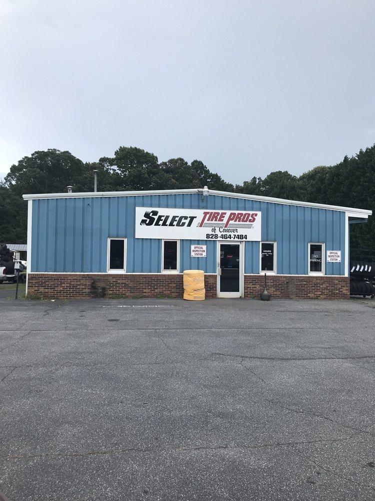 Select Tire Pros: 115 Conover Blvd, Conover, NC