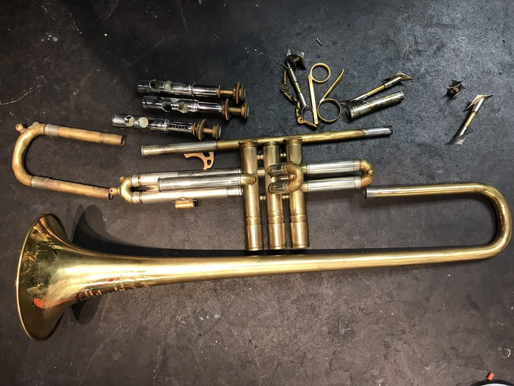 Wind & Brass Instrument Repair: 1315 San Pablo Ave, Berkeley, CA