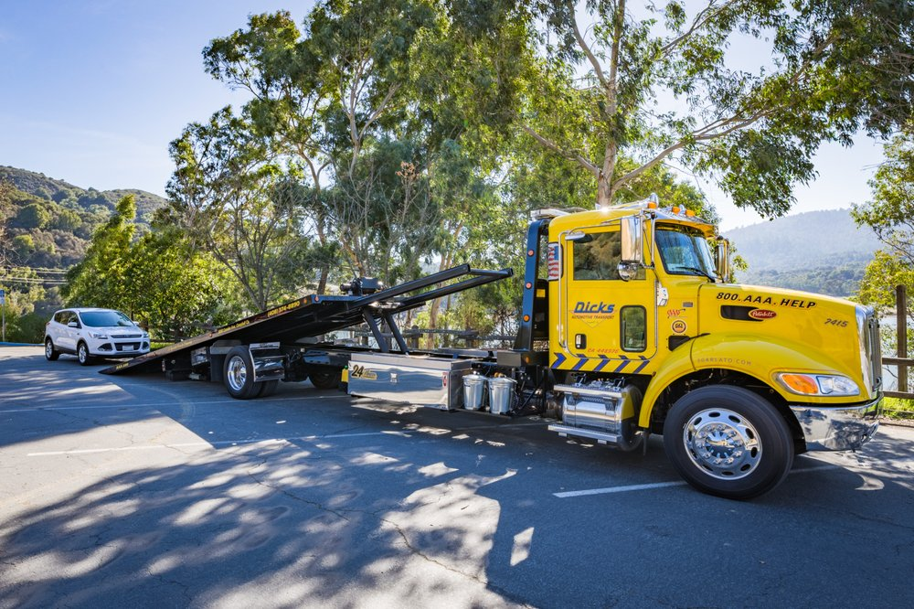 Towing business in Saratoga, CA