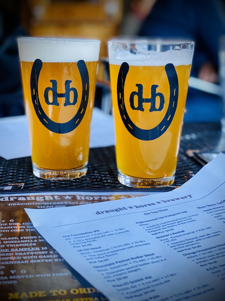 Draught Horse Brewery: 57721 Grand River Ave, Lyon Charter Township, MI
