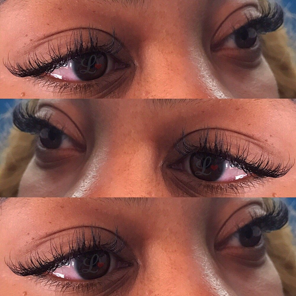 d420d6b31b0 Mixed Volume + Classic Full Set of Faux Mink Lash Extensions by ...