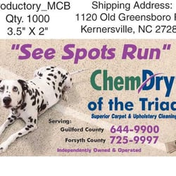 chem dry of the triad carpet cleaning 307 e mountain st kernersville nc united states. Black Bedroom Furniture Sets. Home Design Ideas