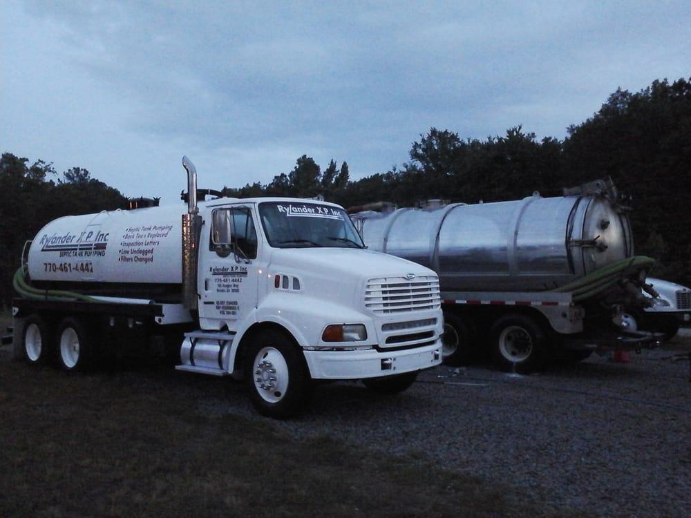 Rylander XP Inc Septic Tank Pumping: 165 Coogler Way, Brooks, GA