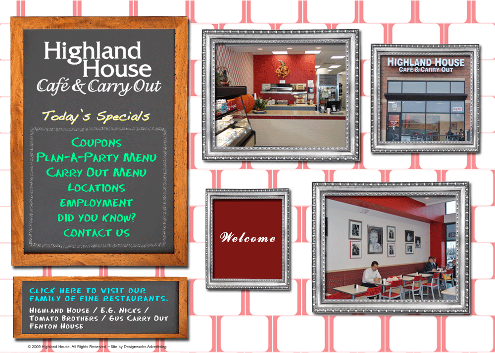 Highland House Carryout Rewards