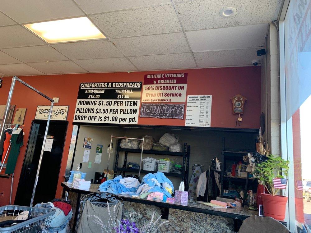 Highlander LaundryMat: 510 W Kansas Ave, Garden City, KS
