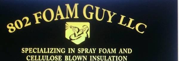 802 foam guy: East Barre, VT