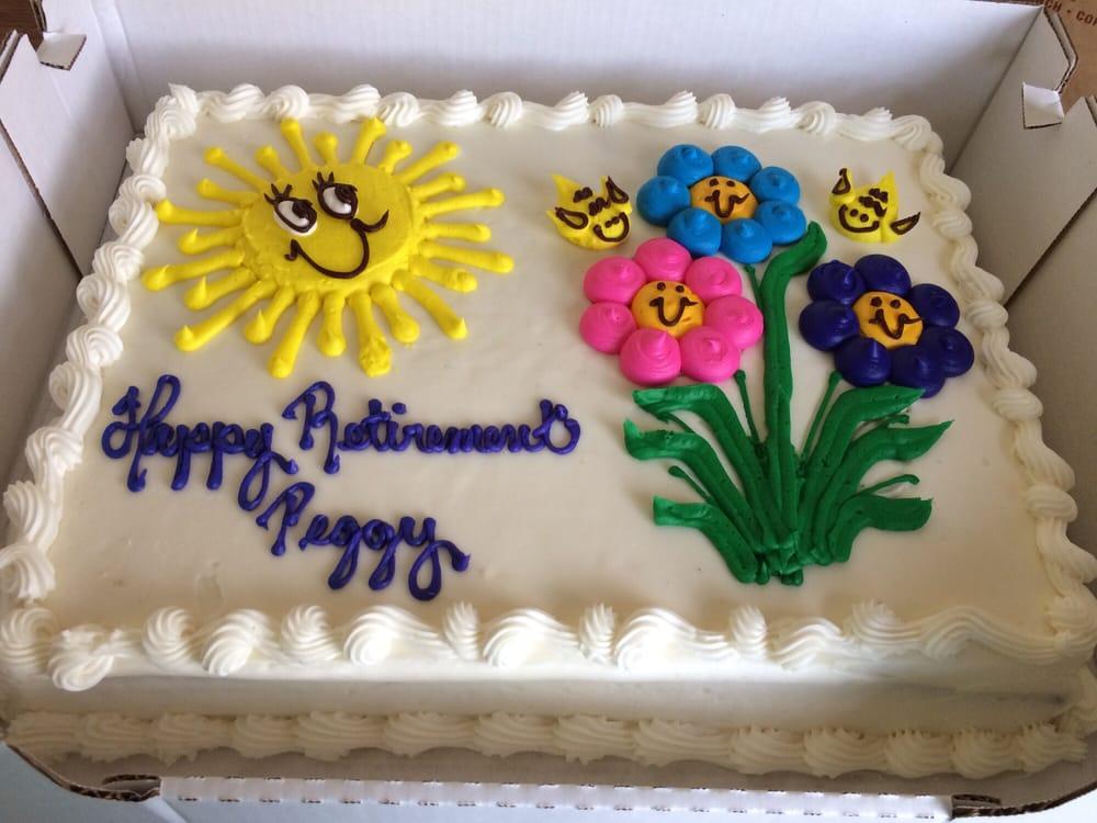 costco retirement cakes