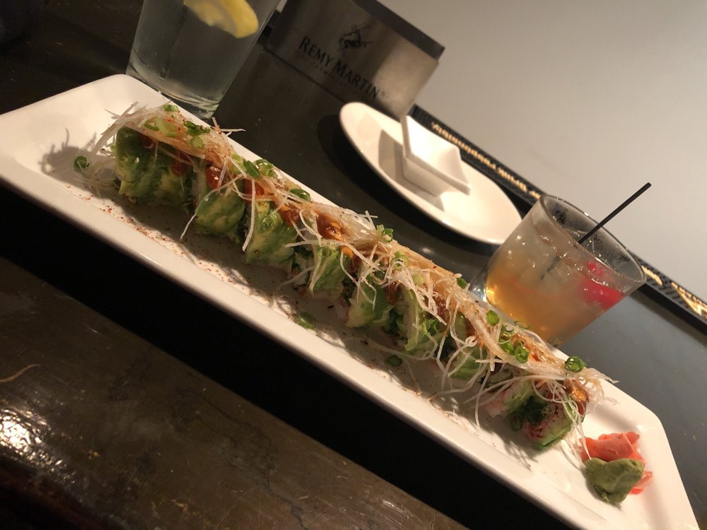 Food from RAW Restaurant