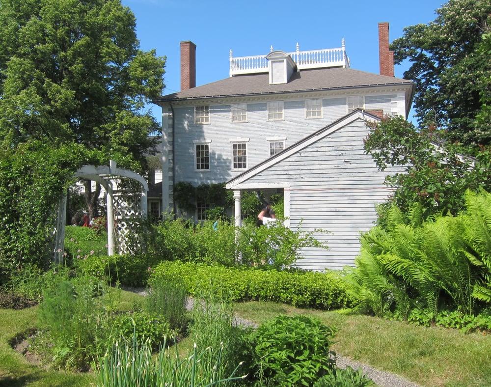 Image Result For Moffatt Ladd House Garden