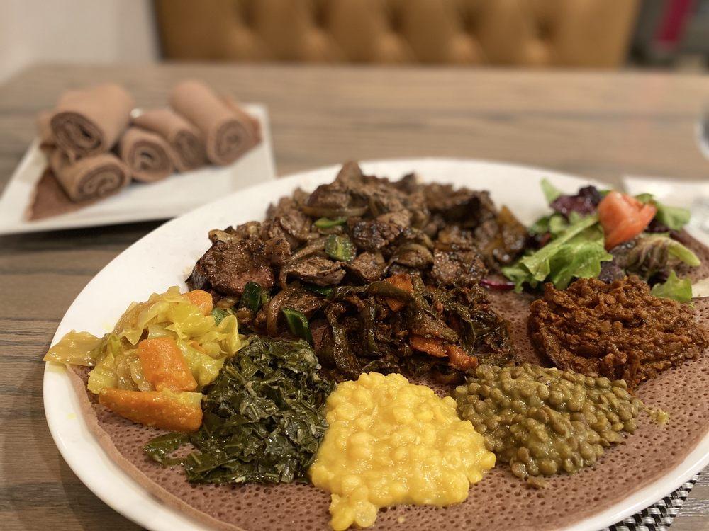 CherCher Ethiopian Cuisine & Bar: 4921 Bethesda Ave, Bethesda, MD