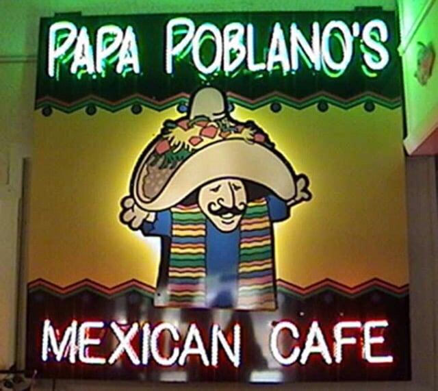Papa Poblanos Mexican Cafe: 1650 N West Ave, El Dorado, AR