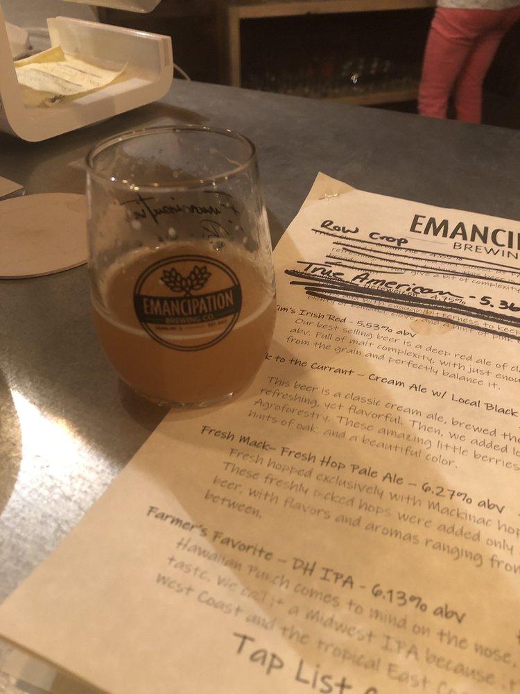 Emancipation Brewing Co.: 13113 N 2500 E Rd, Fairbury, IL