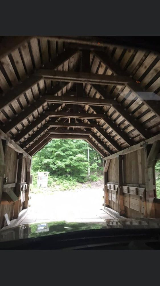 Loon Song Covered Bridge: 7700 N Reynolds Rd, Lake Ann, MI
