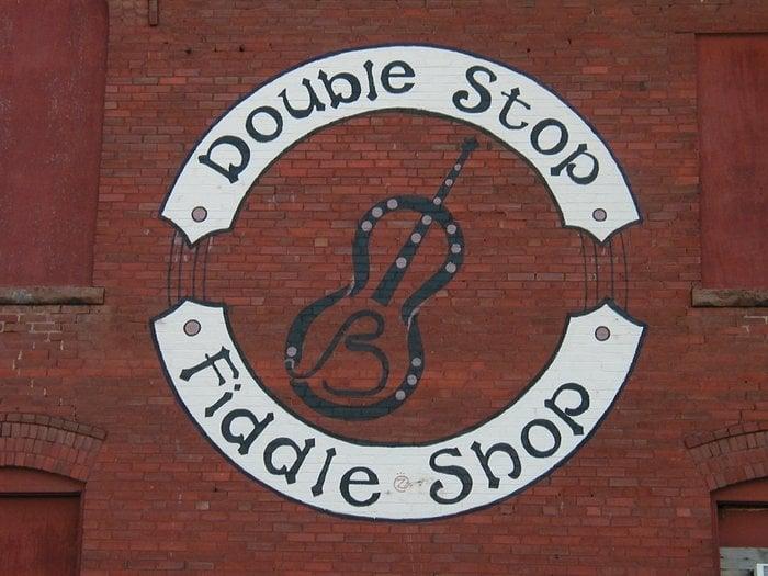 Double Stop Fiddle Shop & Music Hall: 121 E Oklahoma Ave, Guthrie, OK