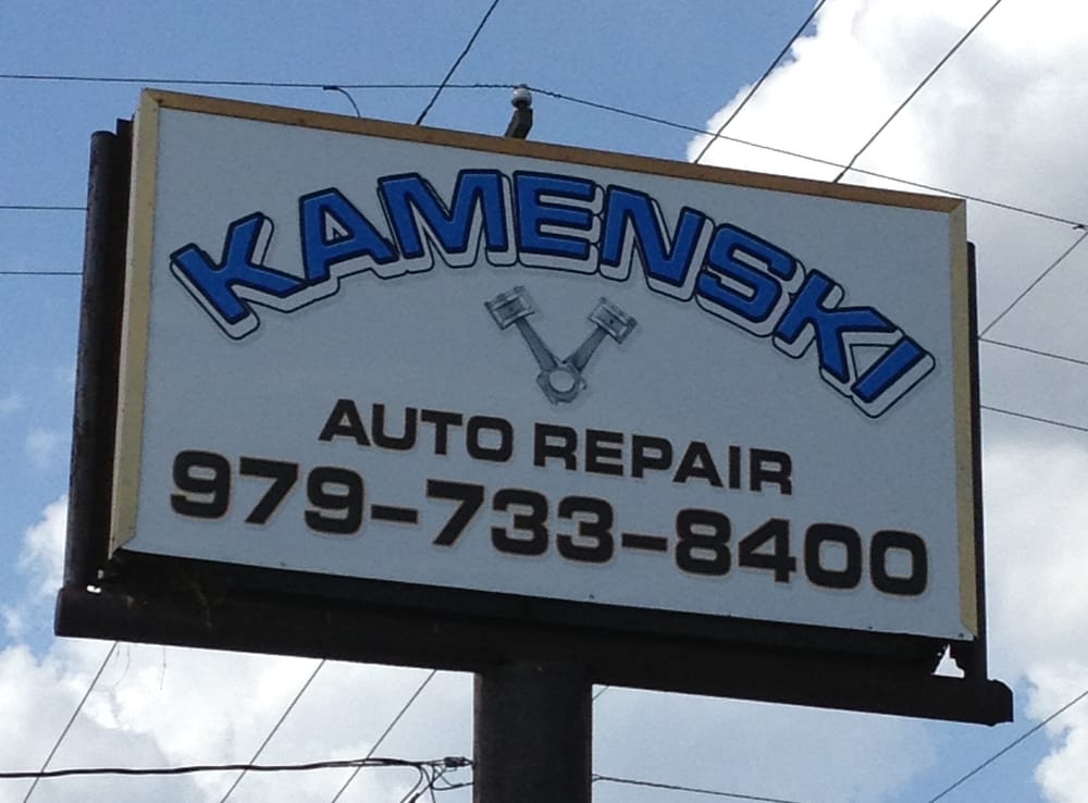 Kamenski Auto Repair: 1005 Houston St, Columbus, TX