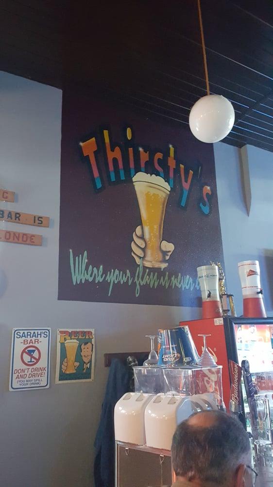 Thirsty's: 318 4th St NE, Devils Lake, ND
