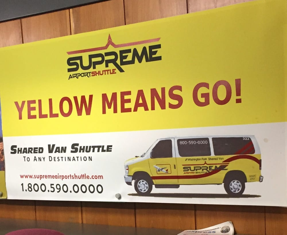Supreme Airport Shuttle: Dulles International Airpot, Dulles, VA