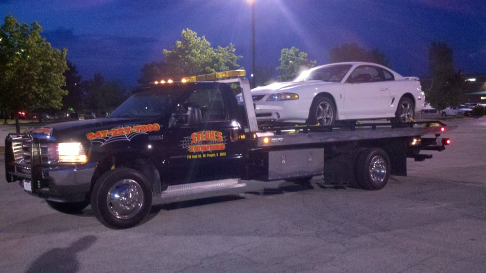 Stevies Towing: 216 W Rand Rd, Mount Prospect, IL