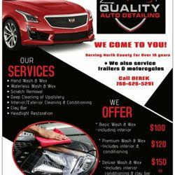 Car Detailing Services Near Me >> Dahl Quality Auto Detailing Request A Quote Auto Detailing