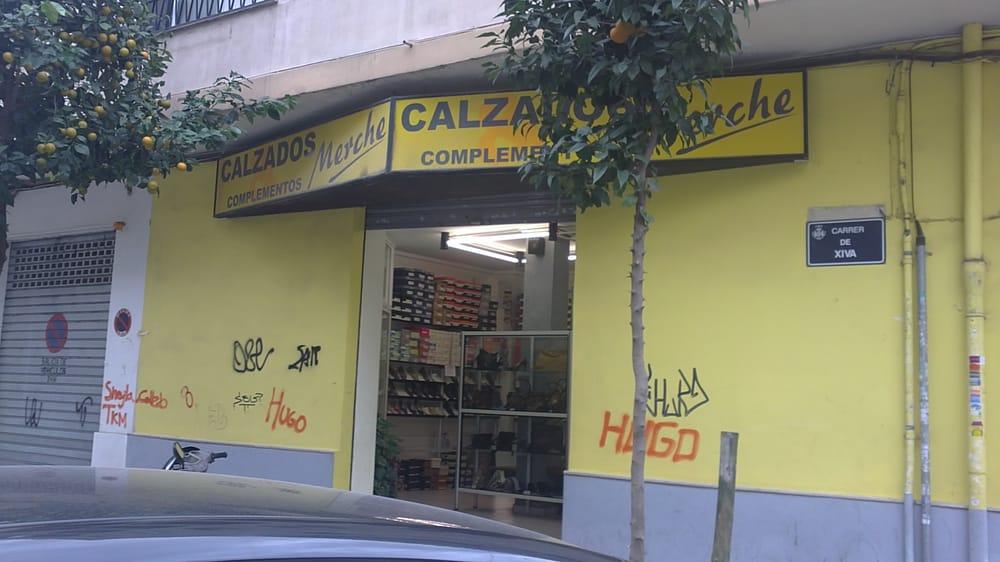 merche magasins de chaussures carrer de xiva 27 patraix valence valencia espagne. Black Bedroom Furniture Sets. Home Design Ideas