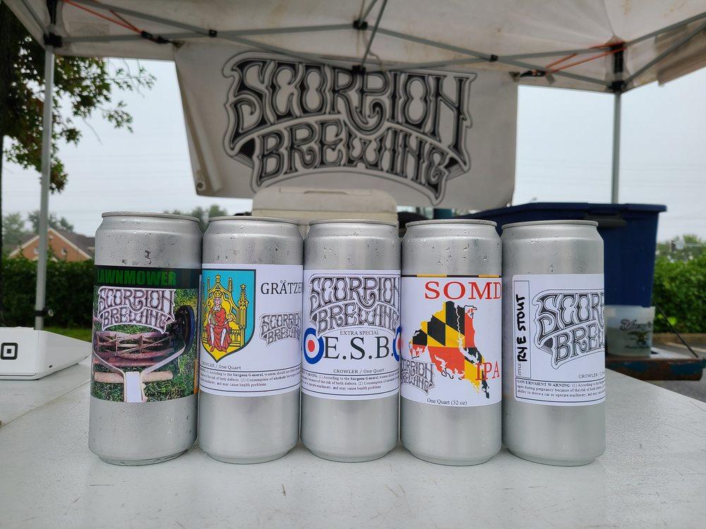Scorpion Brewing: 929 Skinners Turn Rd, Owings, MD