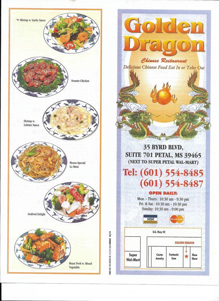 Golden Dragon: 793 Hwy 42, Petal, MS