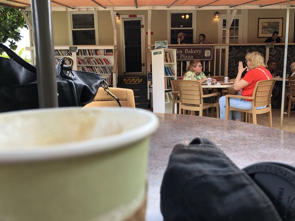 Coffee outside - a book library and even a place to draw! - Yelp