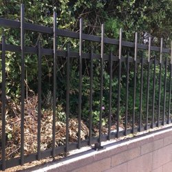 Photo Of Jrc Wrought Iron Rosemead Ca United States Fencing On Brick