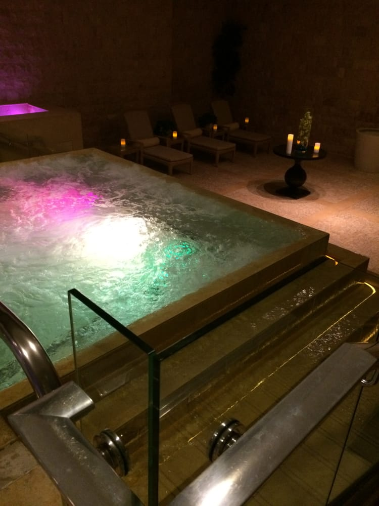 The warm jacuzzi bath yelp for A cut above salon las vegas